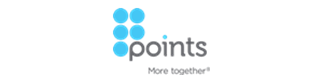 Points.com logo