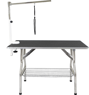 Pet grooming stand for both cats and dogs