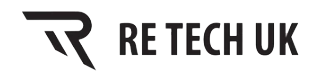 Re Tech UK Active Wear logo